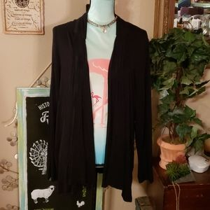 Apt 9 Black Cardigan Sweater Size 1X